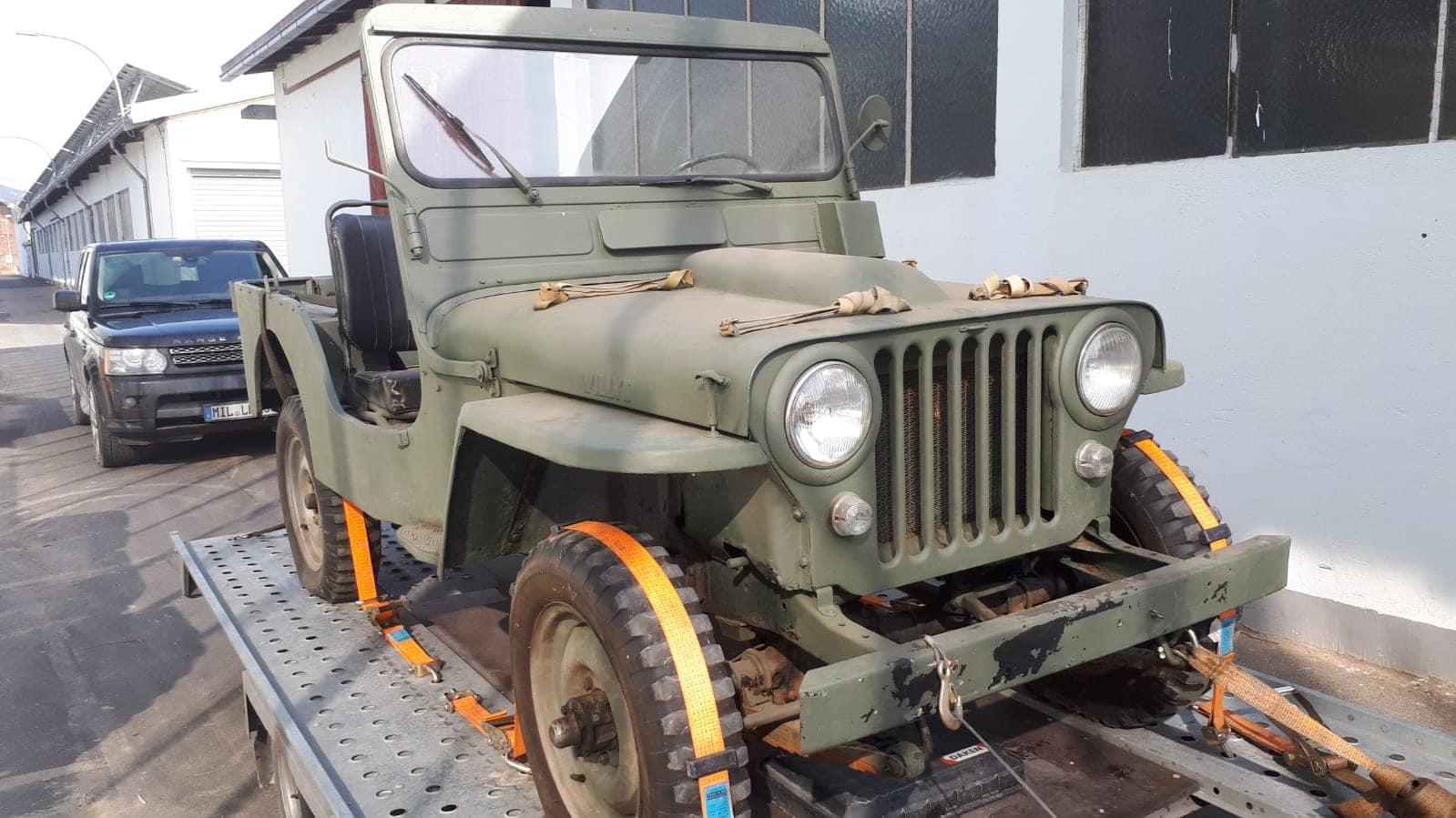 Willys Jeep, rok výroby 1950