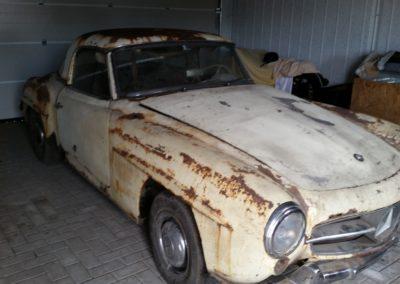 MB W121 190 SL rok výroby 1960