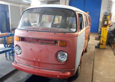 VW Transporter T2 rok výroby 1978